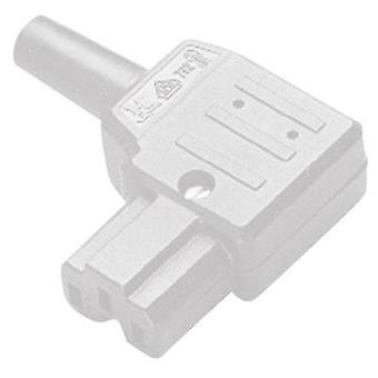 Hot wire connector C15A Series (mains connectors) 792 Socket, right angle