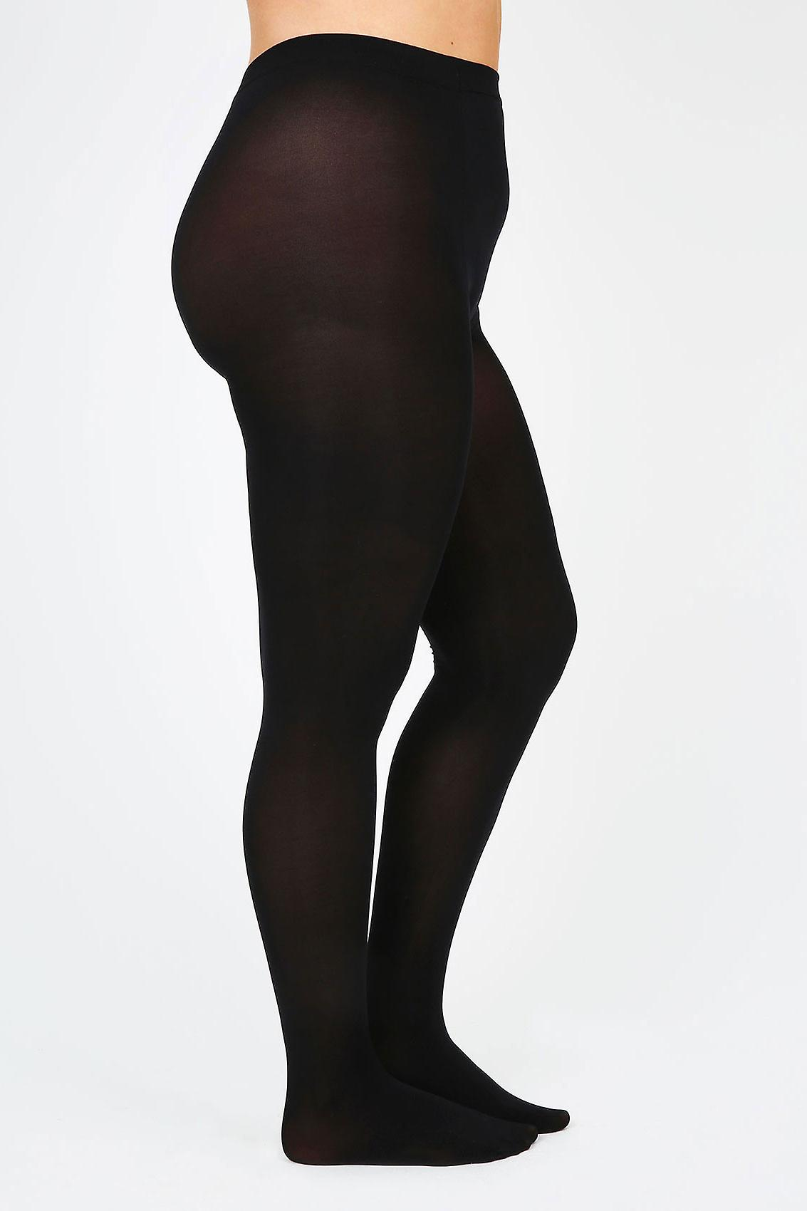 Black 100 Denier Opaque Tights
