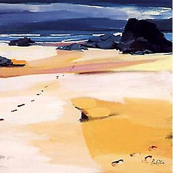 Pam Carter print - Footsteps on Lewis