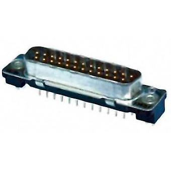 D-SUB pin strip 180 ° Number of pins: 9 Print TE Connectivity AMPLIMITE HD-20 1 pc(s)