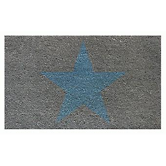 Aramis Doormat  Star  Grey-Blue (Home , Textile , Doormats)