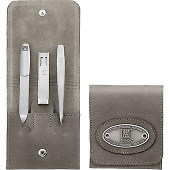Zwilling Pocket Case, 3 Parts Neat'S Leather, Taupe
