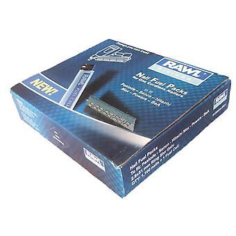 Rawlplug 3.1x90mm ring sølv galv søm 1100 + 1 brændselscelle