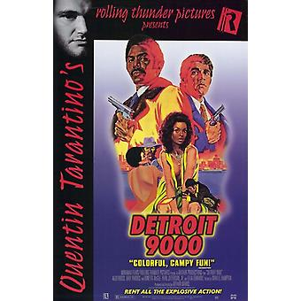 Detroit 9000 Movie Poster (11 x 17)