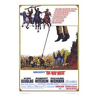The Way West Movie Poster (11 x 17)
