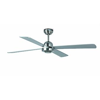 Faro ceiling fan Ibiza nickel matt 132 cm / 52