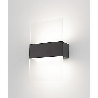 LED Wall lamp SIKARI IP44 indoor + outdoor 4W 3100 K warm white