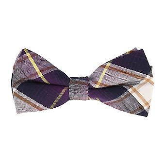 Associati a icone di Mr. Vola ciclo purple Plaid giallo 12 x 6 cm