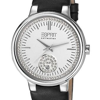 Esprit Collection Damen Uhr Armbanduhr Maia Leder EL101972F02