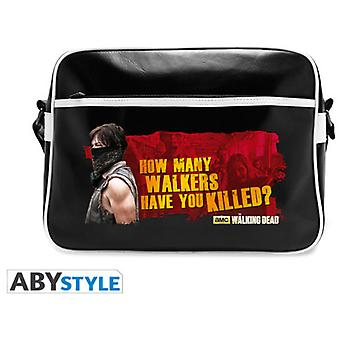 Abysse The Walking Dead Messenger Bag Daryl Walkers Vinyle