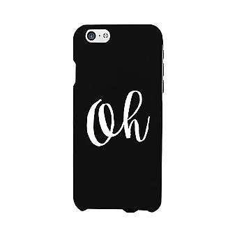 Oh Black Ultra Slim Cute Design Phone Cases For Apple, Samsung Galaxy, LG, HTC