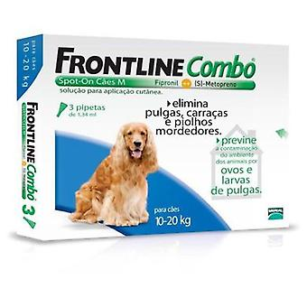 Frontline Spot Combo Medium Wide 10-20 Kg (dogs, allergy-worms, Pipettes)