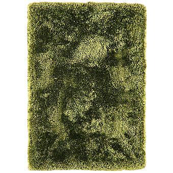 Oriel Gloss Green Modern Shaggy Rug