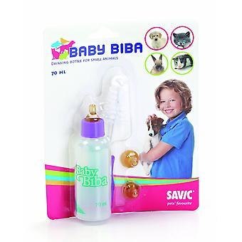 Baby Biba omvårdnad flaska 70ml (förpackning med 12)