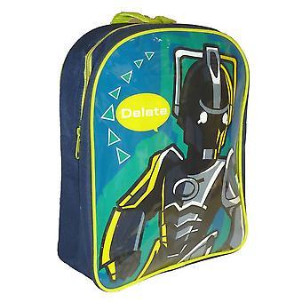 DR WHO | WORLDS IN TIME Design PV Backpack | School Bag PE Swimming Bag