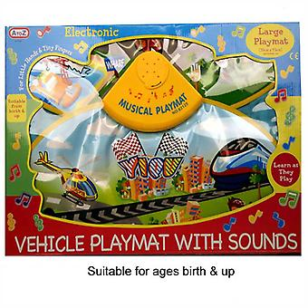 Vehicle Playmat with Sounds