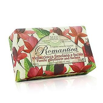 Romantica Passional Natural Soap - Fiesole Gillyflower & Fuchsia - 250g/8.8oz