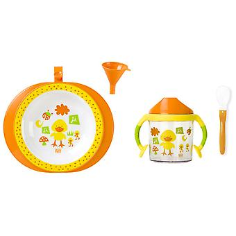 Saro Dishes With Plate Termo 3 Pieces (Home , Baby's en Kinderen , Eten , Keukengerei)