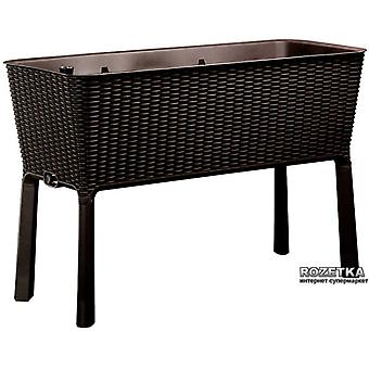 Keter Rattan Effect Fully Lined Cradle Planter