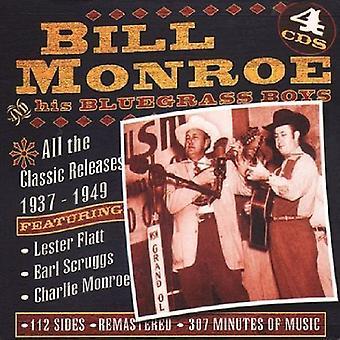 Bill Monroe - alle Classics [CD] USA importen
