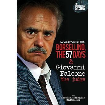 Giovani Falcone: The dommer/Borsellino: 57 dage [DVD] USA import