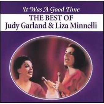 Garland/Minnelli - fue una importación de USA de tiempo [CD]