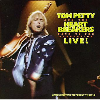 Tom Petty & the Heartbreakers - Pack Up the Plantation-Live! [CD] USA import