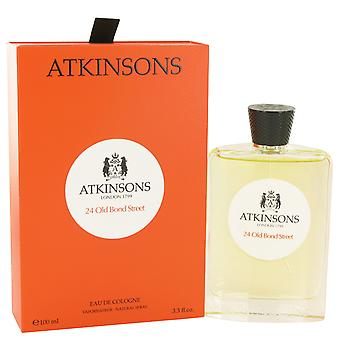 Atkinsons Men 24 Old Bond Street Eau De Cologne Spray By Atkinsons