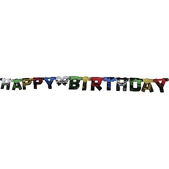 Felice festa di compleanno di catena d'auguri di compleanno Garland 140cm