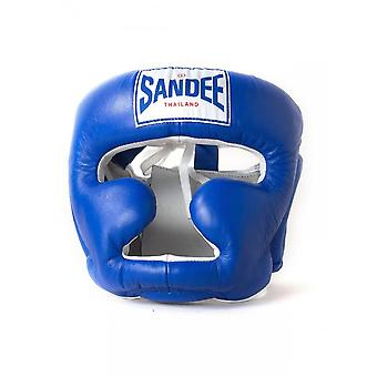 Sandee Closed Face Head Guard - Blue