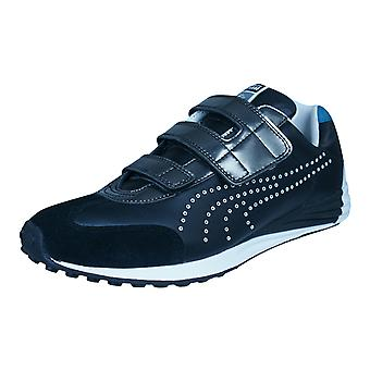 Puma Mihara Yasuhiro MY 43 Mens Leather Trainers / Shoes - Black