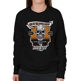Tiger stigende Street Fighter kvinders Sweatshirt
