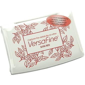VersaFine Pigment Ink Pad-Satin Red VF-010