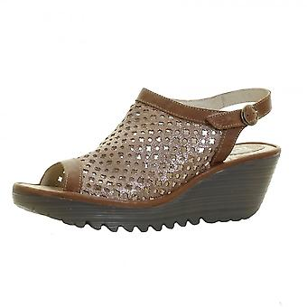 Fly London YUTI734FLY Womens Wedge Sandal