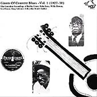 Giganter af Country Blues - giganter af Country Blues [CD] USA importerer