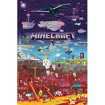 Minecraft World Beyond Maxi Poster