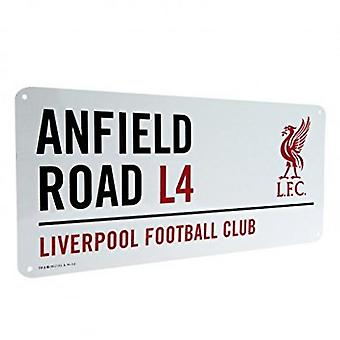 Liverpool FC Official Football Metal Street Sign