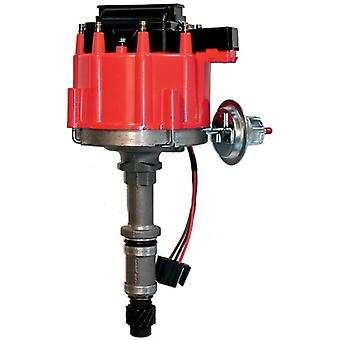 Proform 67088 Vacuum Advance HEI Distributor with Steel Gear and Red Cap for Buick 215-350