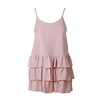 Twin-set ladies PS72WY00816 pink viscose top