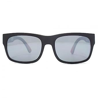Dragon Tailback H20 Sunglasses In Matte Black Silver Ionized