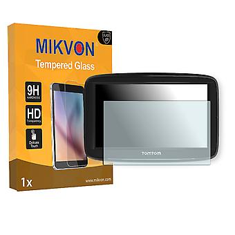 TomTom Via 62 Screen Protector - Mikvon flexible Tempered Glass 9H (Retail Package with accessories)