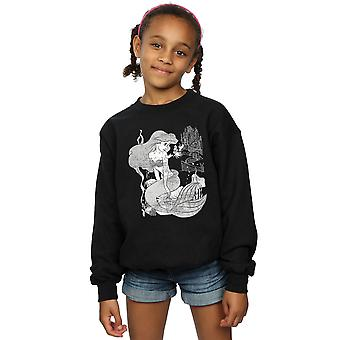 Disney Princess Girls The Little Mermaid Sweatshirt
