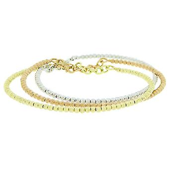 14 k White, yellow or rose gold bracelet