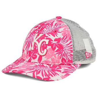 Kansas City Royals MLB New Era 9Forty Flower Power Youth Snapback Hat