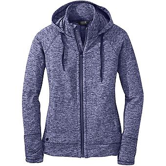 Outdoor Research Womens Melody Hoody Blue Violet (UK Size 10)