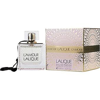 L'Amour Lalique By Lalique Eau De Parfum Spray 3.3 Oz