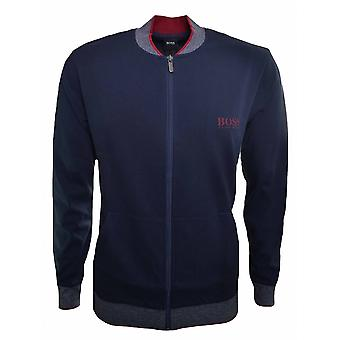 Hugo Boss Leisure Wear Hugo Boss Men's Dark Blue College Jacket