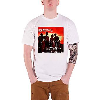 La camiseta de hombres libertinos blanco himnos para la juventud condenada oficial