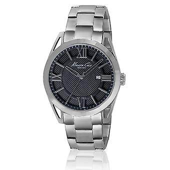 Kenneth Cole Men's Classic Analogue Silver Watch KC9372