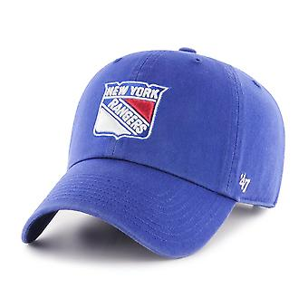 47 fire relaxed fit Cap - CLEAN UP New York Rangers royal